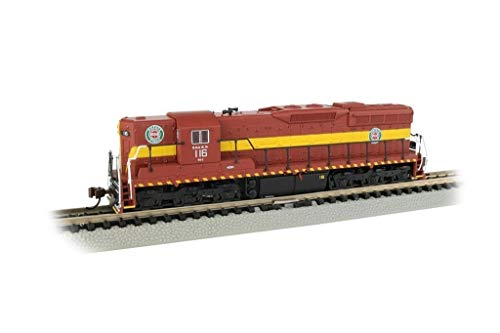 Bachmann Trains 62355 EMD SD9 Sound Value Equipped Locomotive - Dm&Ir #116 - N Scale, Prototypical Colors