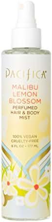 Pacifica Beauty Perfumed Hair & Body Mist, Malibu Lemon Blossom, 6 Fluid Ounce