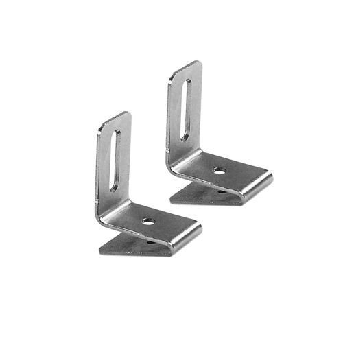 - Allen Roth Nickel Finish Side Bracket- 10 Packages