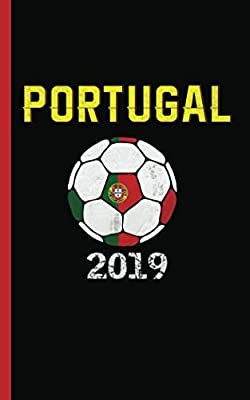 "Portugal Flag Soccer Ball Journal - Notebook: Patriotic Portuguese DIY Writing Note Book - 100 Lined Pages + 8 Blank Sheets, Small Travel Size 5x8"" (Soccer Gear Gifts Vol 8)"