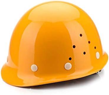 "Rui Peng 安全性 ヘルメット - 頭の保護、""涼しく保つ""換気用ヘルメット、完全に調整可能、キャップタイプ、エンジニアリング換気用ヘルメット安全保護電源建設マイナーインパクトヘルメット - ヘルメット (Color : B)"