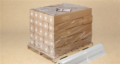 Pallet Size Shrink Bags on Rolls 52 x 43 x 70 x 4 mil