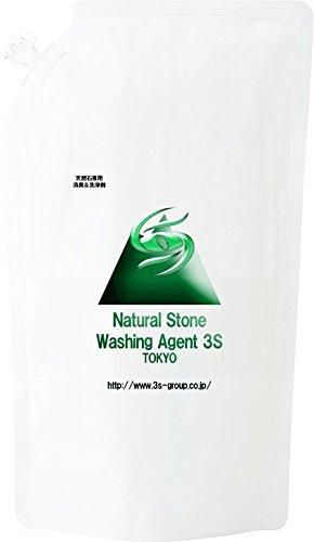 【天然石のパワーを最大限に発揮させる!】 天然石 専用 消臭 & 汚れ落とし クリーナー 3S 《詰替え用500ML》 水晶 パワーストーン ブレスレット 洗浄 除菌 スプレー B072QYBF4G