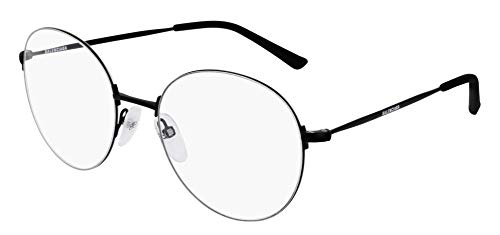 Balenciaga BB0035O Eyeglasses 001 Black-Black 54mm