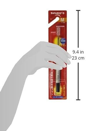 Cepillo de dientes Soladey-3 Ionic SOLAR. Una de las maneras más eficaces de quitar la placa. Color rojo.: Amazon.es: Belleza