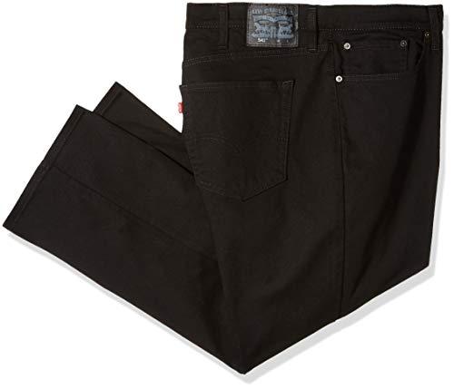 Levi's Men's Big & Tall 541 Athletic Fit Pant, Jet/Bull Deni