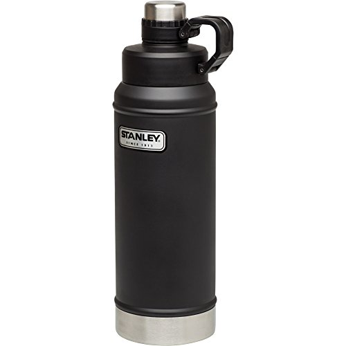 Stanley 36 Oz Vacuum Insulated Water Bottle Matte Black
