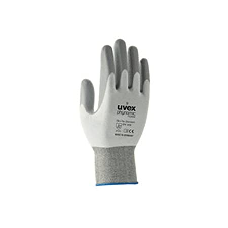 Uvex 60050 7 Phynomic mousse Gant de sé curité , taille: 7, Blanc, Gris taille : 7 Uvex Safety Group 60050 7