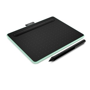 Wacom Pen Tablet Intuos Small Wireless CTL-4100WL/E0 Pistachio Green(Japan Domestic Genuine Products)