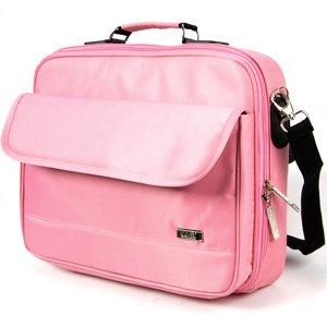 "Bolsa Maletín para Portátil 17"" Color Rosa de SureLaptop"