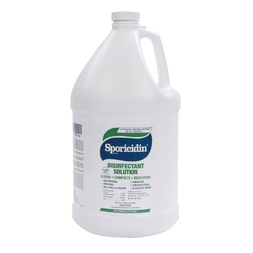 Contec RE-1284C Sporicidin Disinfectant Solution, 3.8L Container (Case of 4) by CONTEC