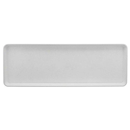 Bakery Market Tray White Fiberglass Display Tray - 26