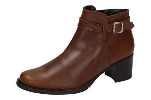 Dliro ,  Damen Booties Leder