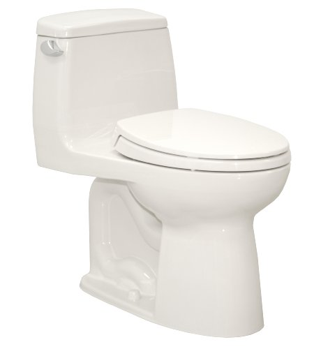 Toto MS854114SL#01 Ultramax ADA One Piece Toilet, Cotton ...