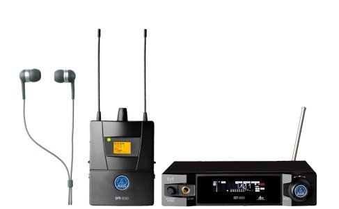 AKG Pro Audio IVM4500 Set BD1-50mW In-Ear Audio Monitor System (Akg Monitor)