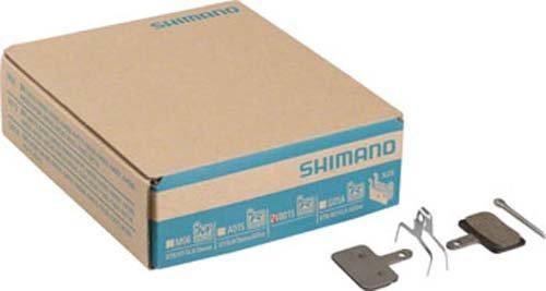 Shimano B01S Resin Disc Brake Pad, 25 Pairs