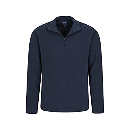 Mountain Warehouse Mens Camber Fleece Top - Lightweight Top, Breathable Sweater, Quick Drying Pullover, Extra… 7