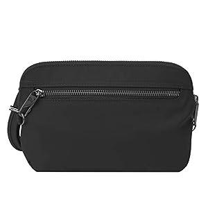 Travelon Women's Anti-Theft Tailored Convertible Crossbody Clutch Cross Body Bag