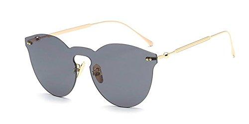 Lennon rond de métallique soleil en Grise Pièce style du lunettes inspirées retro vintage polarisées cercle Complète 8a7wxRqF