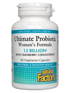 - Ultimate Probiotic Formula, Women's 60 Vcaps by Natural Factors (Pack of 3)