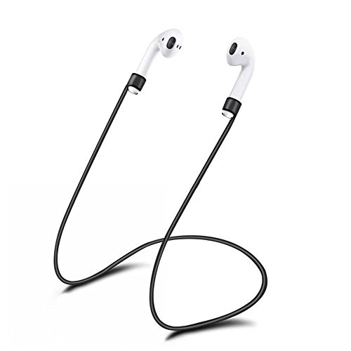 JonerytimeSoft Silicone for iPhone 7 & 7 Plus AirPods Strap Sports Wire Anti Lost Rope -