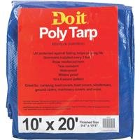 Med Duty Tarp (Dynatech International Inc.: 10X20 Blue Med Duty Tarp 709123 -2Pk)