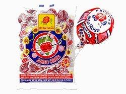 De La Rosa Lollipop Jumbo Cereza 33.5 oz