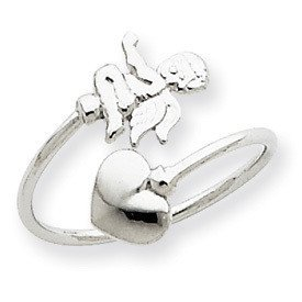 (JC Jewelry & Gifts 14k Cupid Toe Ring)
