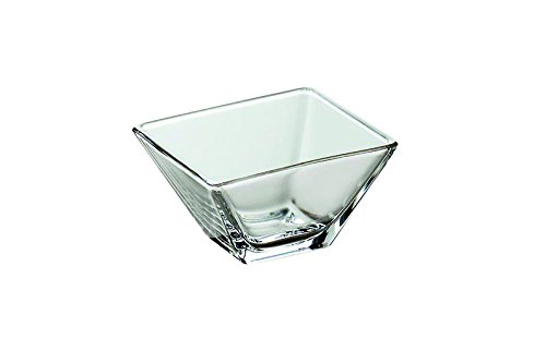 ality Glass - Square - Small - Bowl - 3.1
