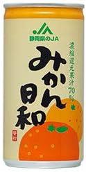 JA静岡経済連 みかん日和 190g缶×30本入×(2ケース)