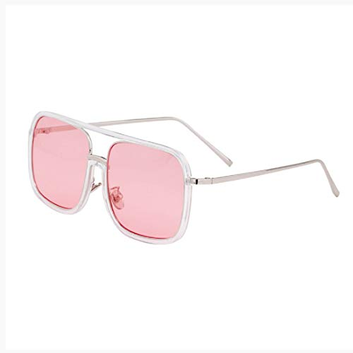 BOLLH Sunglasses Fake Glasses Big Frame Clear for Women Men Fashion Classic Retro Costumes Party Halloween]()