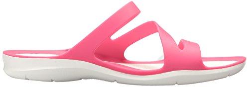 crocs crocsSwiftwater Sandal - Sandalias Swiftwater W Para Mujer rosado/blanco (Paradise Pink/White)
