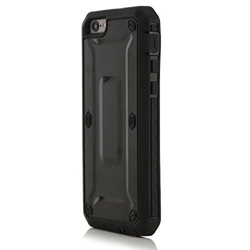 Power Case Herkules Hülle für Apple iPhone 6 Plus schwarz
