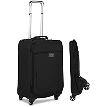 Amazon Com Biaggi Luggage Leggero Foldable Spinner Carry On 22 Inch Carry Ons