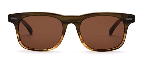 OTIS Eyewear Trendwell : Olive Gradient/Brown Polarized Unisex - Otis Sunglasses