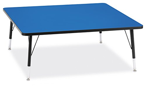 Berries 6418JCT183 Square Activity Table, T-Height, 48