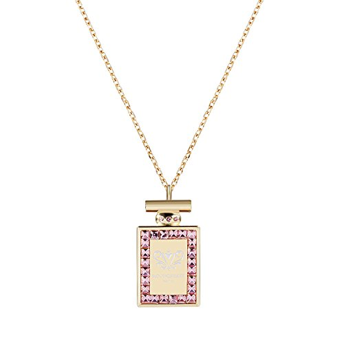 Latitude 22 Gold Tone Pendant Necklace 24K Gold Plated for Women