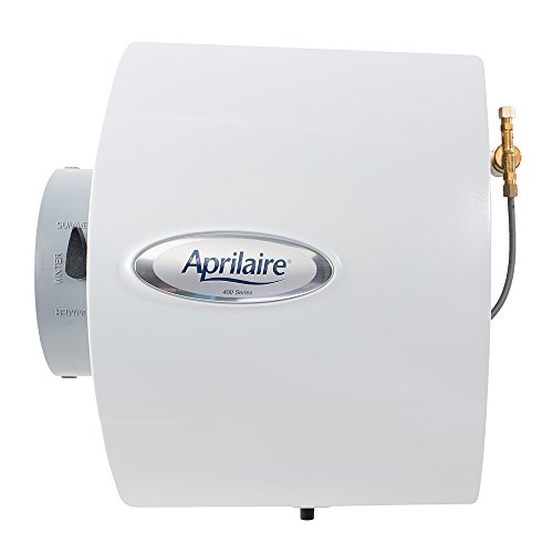 Aprilaire 400M Whole House Humidifier, Manual Water Saver Furnace Humidifier