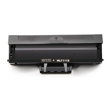 HITZE MLT D111S Cartucho de Toner Negro Compatible para Samsung ...