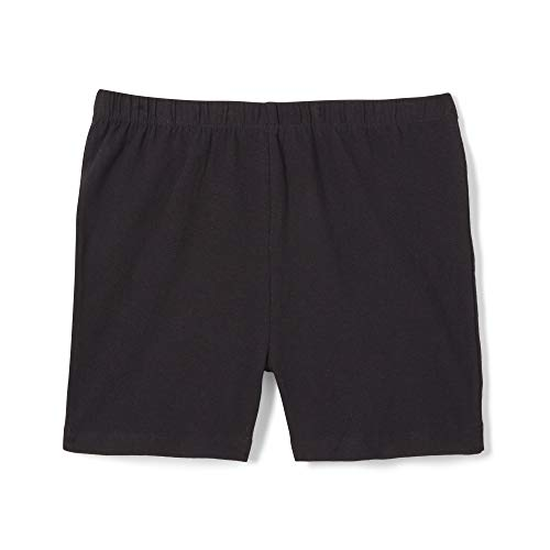French Toast Girls' Big Stretch Kick Short, Black, L (10/12) (Best Bike Shorts For The Money)