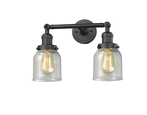 Innovations 208-OB-G54 2 Light Bathroom Fixture, Oil Rubbed Bronze from Innovations