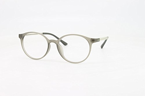 1d95cd3d99 EyeBuyExpress Reading Glasses Mens Womens Grey Round Horn Rimmed Classic Anti  Glare Quality +8.25
