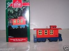 (Hallmark Christmas Sky Line Caboose 1992 QX5321)