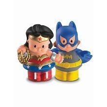 Little People DC Super Friends~Wonder Woman & Batgirl Figure Pack