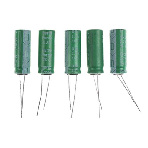 Connectors - 5pcs 26 10mm 2.7v 10f Cylindrical Ultra Super Farad Capacitors Power Electric Controller Supercap - Super J500 Strip Necklace Display Nichicon Flash Charm Pair Bracelet Jade Sta ()