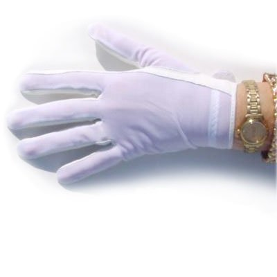 Lady Classic Ladies Solar Golf Gloves White Left Large