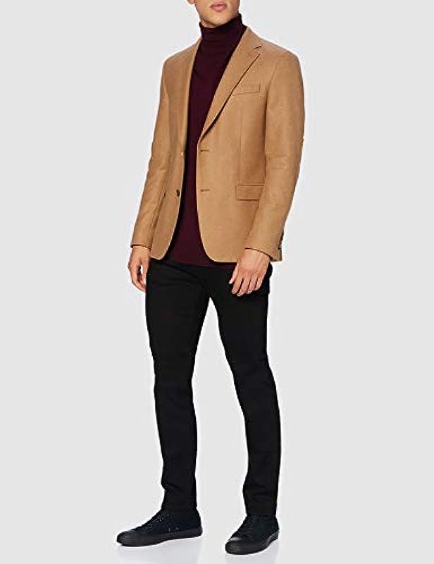 SELECTED HOMME dżinsy męskie (Slhslim-leon 4001 Black St Jeans J Noos), kolor: czarny denim , rozmiar: 31W / 32L: Odzież