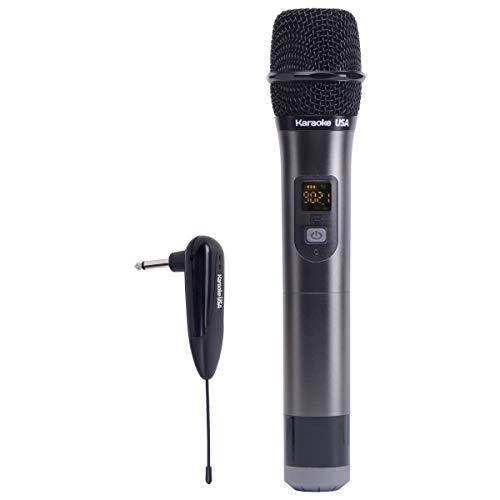 900mhz Microphone Wireless (Karaoke USA Wireless Microphone System (WM900))