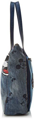 Bols Dark Mickey B cm x Desigual Cabas exotic Blue Denim Bleu H T 12x37x32 femme Bogota Bn8pxdwdUq