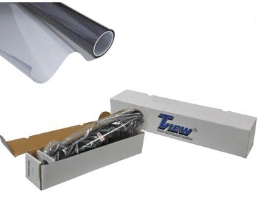 Tview T2BK0540 40'' x 100' Roll of 5% Window Tint